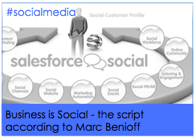 Business is Social – the script according to Salesforce.com's Benioff