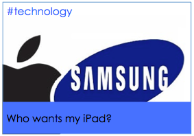 Who wants my iPad?  Samsung answers my dreams (but too late) #samsung #apple #ipad
