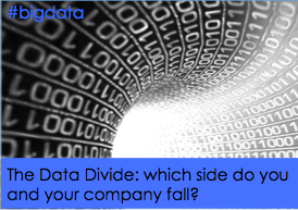 Conflicting data or the data divide? #bigdata